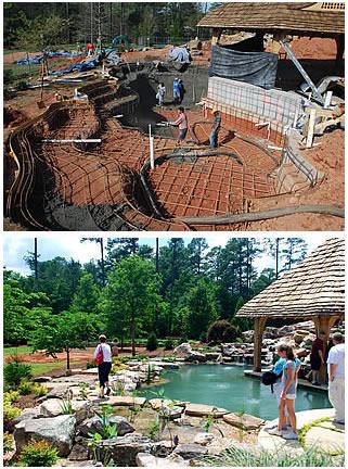 Koi Pond Install